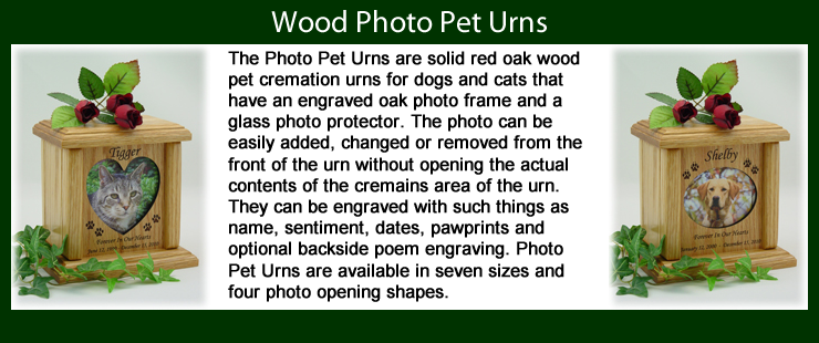 Photo Pet Urns